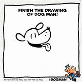 Coloring Dog Dogman Unleashed Pilkey Dav Drawing Printables Underpants Captain Widget Artistic Touch Cartoon Sdk Popjam Movie Theseacroft sketch template