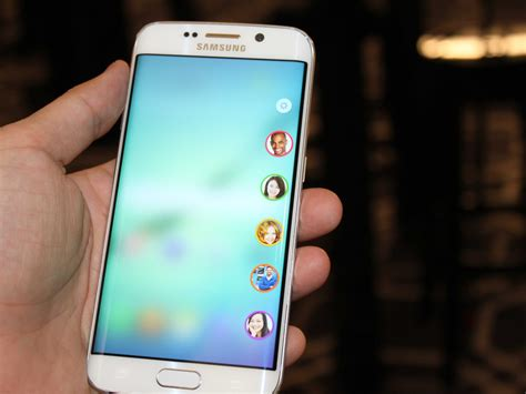 here s your at samsung s new phones the galaxy s6 and galaxy s6 edge business insider