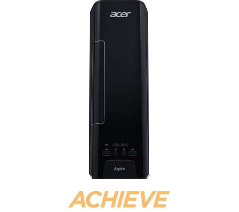 pc bureau acer i5 acer aspire xc 780 desktop with intel i5 6400