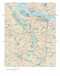Portland Metro Area Wall Map by Map Resources