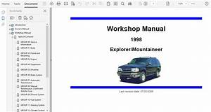 1998 Ford Explorer Repair Manual