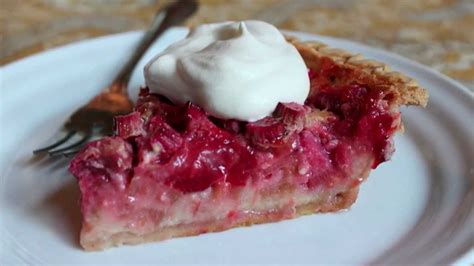 Best Rhubarb Recipes by Rhubarb Pie Recipe Dishmaps