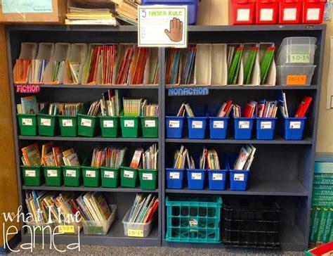 Classroom Bookshelf by Classroom Library Redo