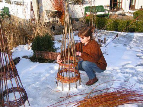 Weihnachtsdeko Aus Dem Garten by Weidenflechten Leicht Gemacht Aus Dem Garten