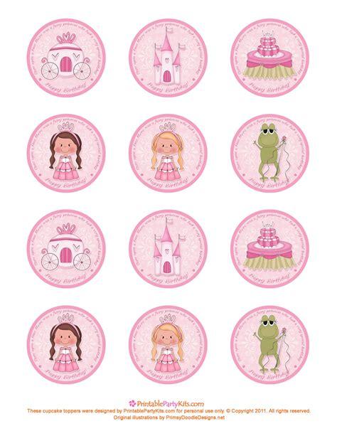 girls printable party kits