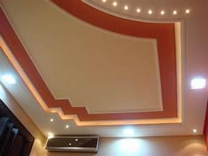 faux plafond suspendu charmant platre pinterest With modele de platre decoration