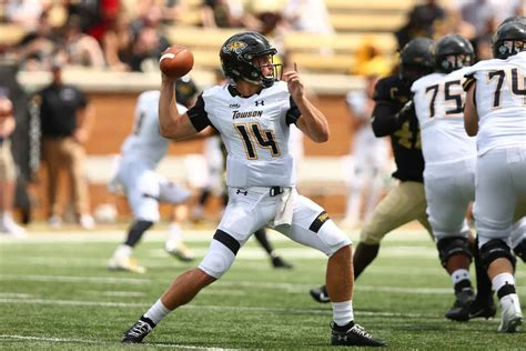 towson adds nc central football schedule