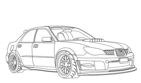 coloring pages coloring pages subaru printable  kids adults