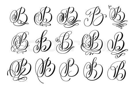 calligraphy lettering script font  set hand written