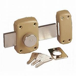 Verrou cyclop type 7600 pour porte de garage vachette for Porte de garage enroulable jumelé avec marque serrure