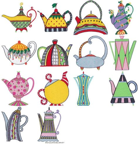 Bunnycup Embroidery Designs