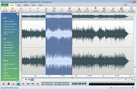 Nch Wavepad Sound Editor Masters Edition 8.44 Beta