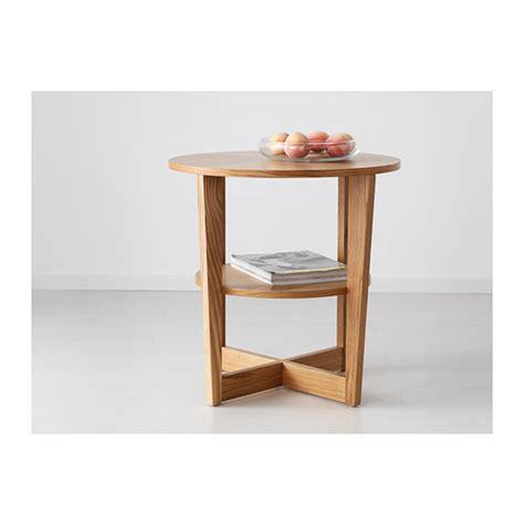 ikea side table vejmon side table oak veneer 60 cm ikea