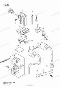 Suzuki Motorcycle 2009 Oem Parts Diagram For Electrical  Model K6  K7  K8