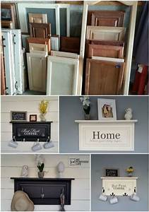 25 best ideas about old cabinet doors on pinterest With best brand of paint for kitchen cabinets with repurpose candle holders