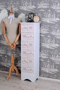 kommode im landhausstil schubladenkommode mit vintage With markise balkon mit retro tapete