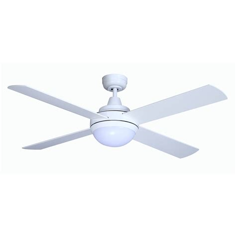 ceiling fans with led lights mercator 130cm white grange dc 4 blade ceiling fan with