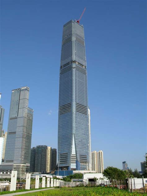 popular skyscrapers  hong kong  love hong kong