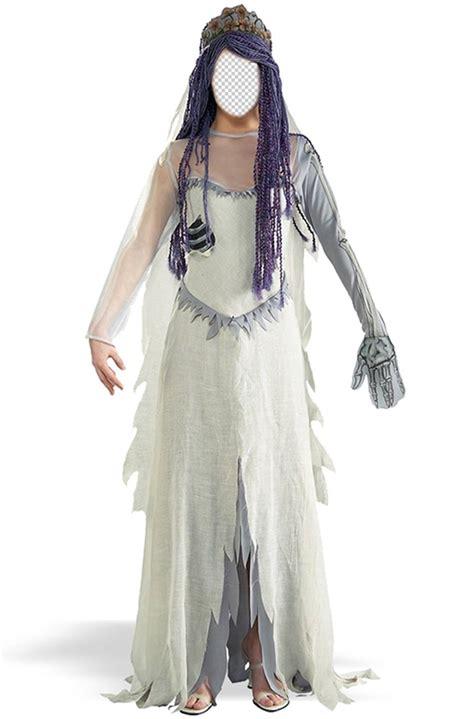 fotomontaje   disfraz de la novia cadaver