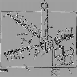 Gear Case  F18  - Broom  Rotary John Deere 51