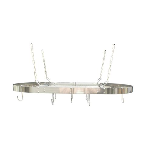 easy way to paint kitchen range kleen oval hanging ceiling pot rack stainless steel