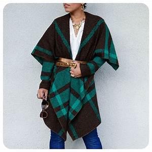 Ootd, Diy, Blanket, Jacket, Pattern, Review, V8696