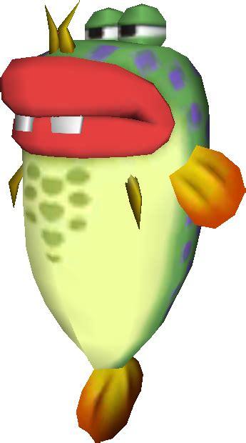 lunge fish super mario wiki  mario encyclopedia