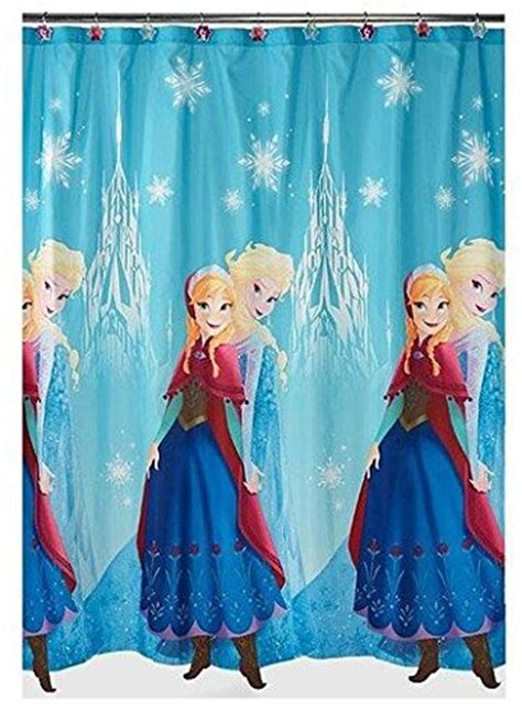 frozen shower curtain frozen bathroom accessories webnuggetz