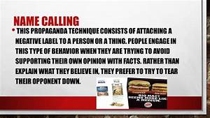 Persuasion, propaganda, and faulty reasoning - ppt video ...