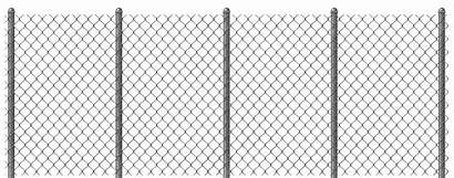 Clipart Chain Link Fence Electric Fencing Transparent