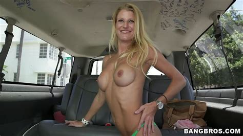 Avona Dominica In Blonde Banged In Bus Hd From