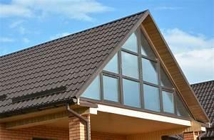 Lucarne De Toit : maison moderne avec la toiture en m tal la fen tre ~ Melissatoandfro.com Idées de Décoration