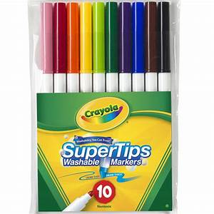 Save On Discount Crayola Washable Markers Pack of 10 ...