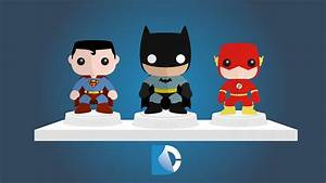 DC FunkoFlat Wallpaper by CoinOpRoux on DeviantArt