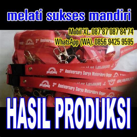 tali promo lanyard tali id card jam delivery tali id