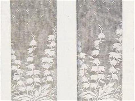 rideaux en crochet patron rideaux au crochet quot branchages quot avec tuto par missfroufrou