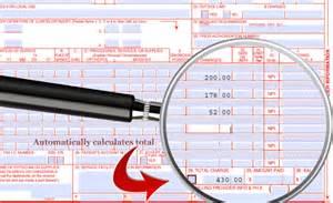 CMS HCFA 1500 Claim Form