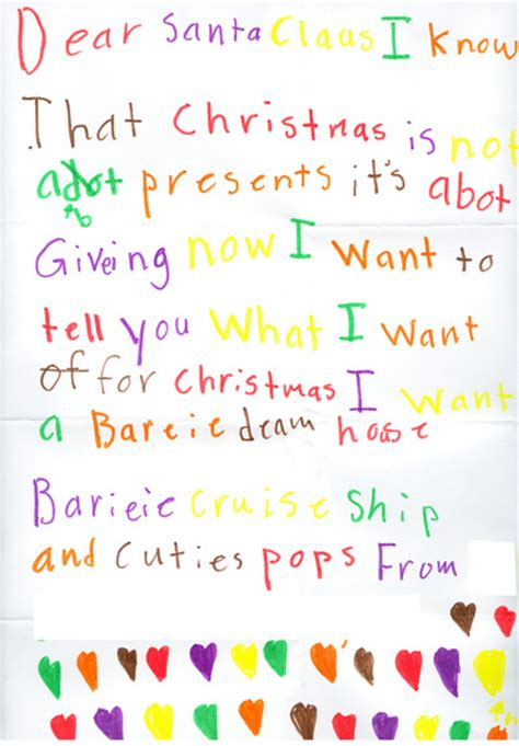 letter to child about santa reports from the pole santa s helpers thoughtfully 28277