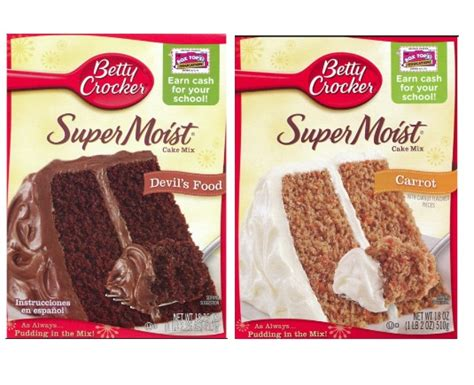 betty crocker cake mixes    shopriteliving
