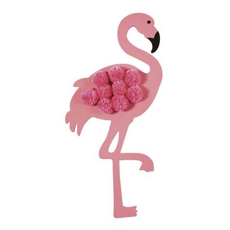 Deko Mit Pompons by Wanddeko Flamingo Mit Pompons 30x61 Tropicool Maisons Du