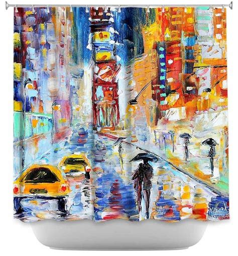 shower curtain artistic a new york new year contemporary