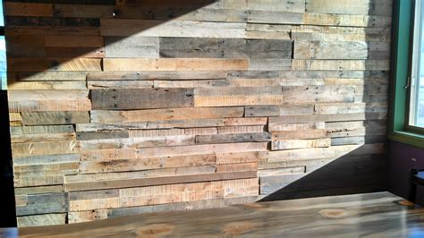 pallet plank wall pallet wood wall video sustainable lumber company