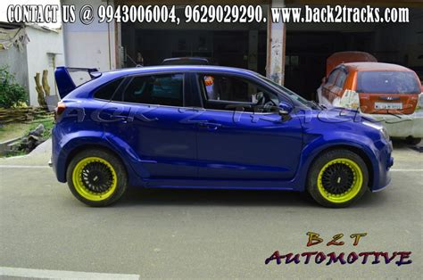 Baleno Car Modification by Back2tracks Car Spoilers Car Kits In Coimbatore
