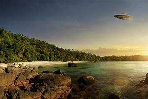 Prehistoric UFO visiting, 1125 x 750pix wallpaper Science ...