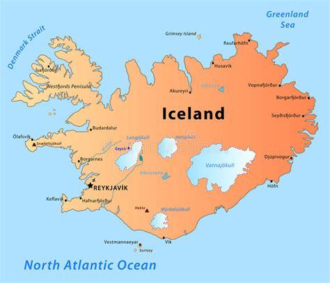 Carte De Image Libre by Carte De L Islande Images Libres De Droits Image 13814499