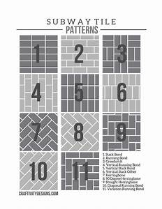 50  Subway Tile Ideas   Free Tile Pattern Template  U2013 Page