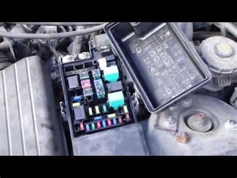 Fuse Box In Honda Accord 2004 by 2004 Honda Accord Fuse Box Fuse Box And Wiring Diagram