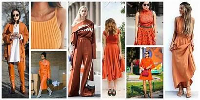 Trends Spring Colors Orange Wear Tag