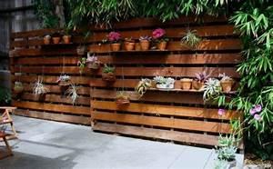 Gartenzaun Selber Bauen Ideen : gartenzaun selber bauen aus paletten ausgefallene diy ideen f r den gartenzaun al aire libre ~ Buech-reservation.com Haus und Dekorationen