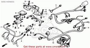 Honda Cbr600f Hurricane 1989  K  Usa Wire Harness